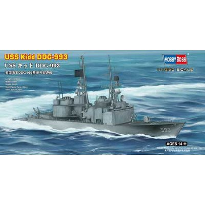 Maquette bateau: USS Kidd DDG-993  - Hobbyboss-82507
