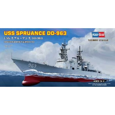 Maquette bateau: USS Spruance DD-963 - Hobbyboss-82504