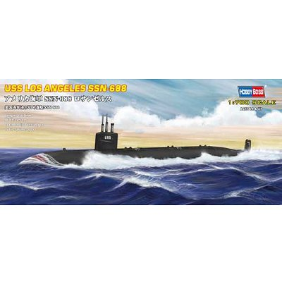 Maquette sous-marin: USS SSN-668 Los Angeles  - Hobbyboss-87014