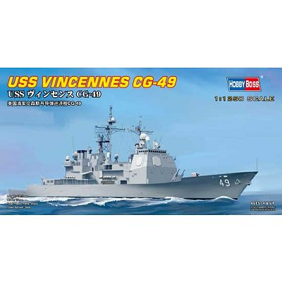 Maquette bateau: USS Vincennes CG-49 - Hobbyboss-82502