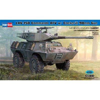 Maquette LAV-150 Commando AFV w/ Cockerill 90mm Gun - Hobbyboss-82422