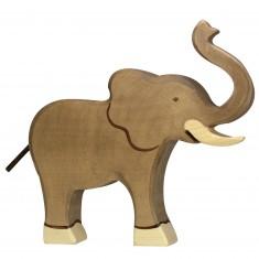 Figurine en bois Holztiger : Animaux de la Jungle : Eléphant