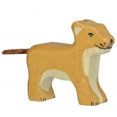 Figurine en bois Holztiger : Animaux de la Jungle : Lionceau