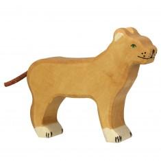 Figurine en bois Holztiger : Animaux de la Jungle : Lionne