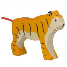Figurine en bois Holztiger : Animaux de la Jungle : Tigre