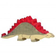 Figurine en bois Holztiger : Dinosaures : Stegosaure