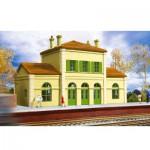 Modélisme ferroviaire HO : Gare fançaise