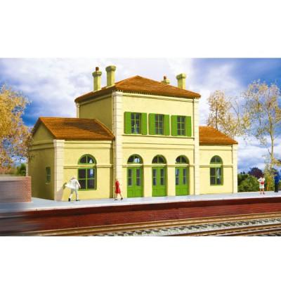 Modélisme ferroviaire HO : Gare fançaise - Jouef-HC8029
