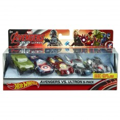Coffret 5 véhicules Hot Wheels : Marvel Avengers