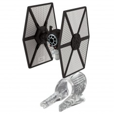 Mini vaisseau Star Wars Hot Wheels : TIE Fighter du Premier Ordre