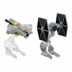 Mini vaisseaux Star Wars Hot Wheels : TIE Fighter et Ghost