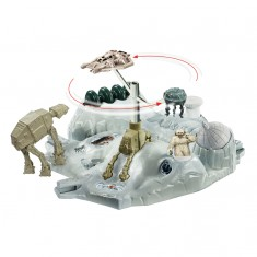Station intergalactique Hot Wheels Star Wars : Echo Base bataille de Hoth