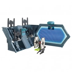 Station intergalactique Hot Wheels Star Wars : TIE Fighter Blast-Out Battle
