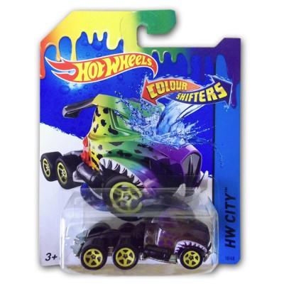 voiture hot wheels colour shifters rig dog jeux et jouets hot wheels avenue des jeux. Black Bedroom Furniture Sets. Home Design Ideas