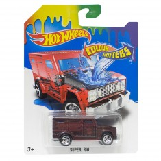Voiture Hot Wheels : Colour Shifters : Super Rig