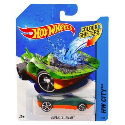 voiture hot wheels colour shifters super stinger jeux et jouets hot wheels avenue des jeux. Black Bedroom Furniture Sets. Home Design Ideas