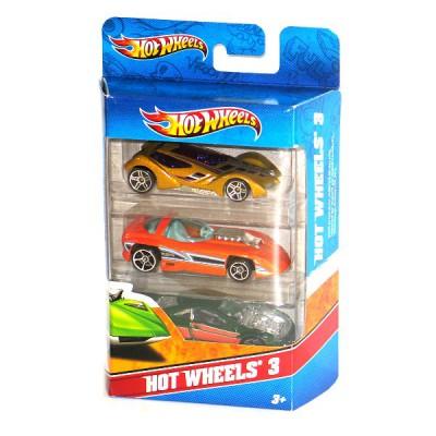 voitures hot wheels coffret de 3 voitures jeux et jouets hot wheels avenue des jeux. Black Bedroom Furniture Sets. Home Design Ideas