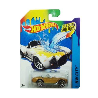 voiture hot wheels colour shifters shelby cobra 427 s c jeux et jouets hot wheels avenue. Black Bedroom Furniture Sets. Home Design Ideas