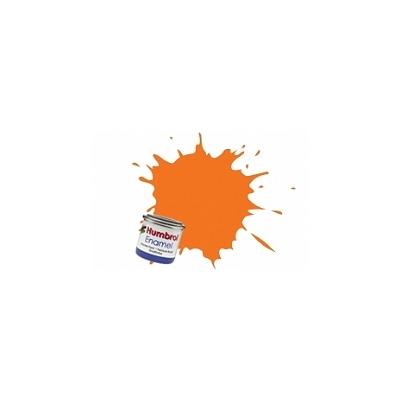 018 - Orange : Enamel - Humbrol-A0196
