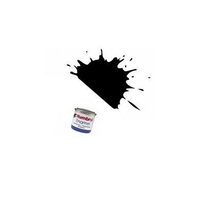 033 - Noir mat : Enamel - Humbrol-A0360