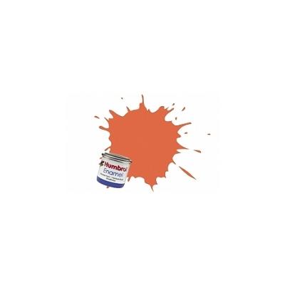 082 - Orange garniture mat : Enamel - Humbrol-A0905