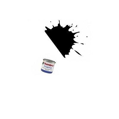 085 - Noir charbon satiné : Enamel - Humbrol-A0936