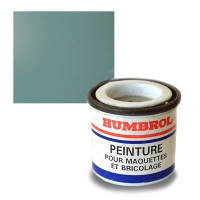 134 : Bleu satiné : Enamel - Humbrol-134