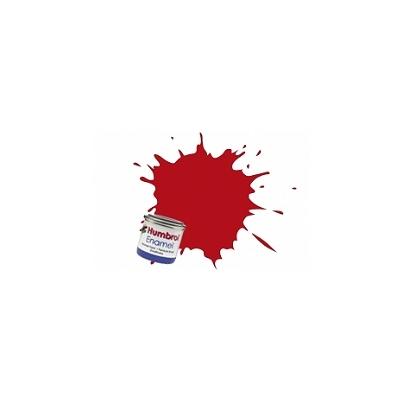 153 - Rouge insigne mat : Enamel - Humbrol-1660