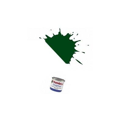195 - Vert foncé satiné : Enamel - Humbrol-A6330
