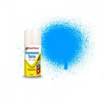 Spray fluorescent acrylique 150 ml : Bleu