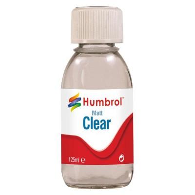 Vernis mat transparent 125 ml - Humbrol-AC7434