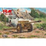 Maquette Canon anti-char allemand 76.2mm Pak 36(r) 1943