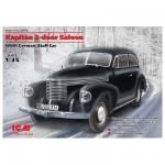 Maquette véhicule d'Etat Major : Opel Kapitan Saloon 2 portes