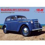 Maquette voiture soviétique : Moskvitch 401 420 Saloon