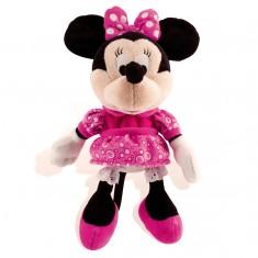 Peluche Minnie rigole