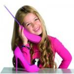 Téléphone Barbie : Intercom