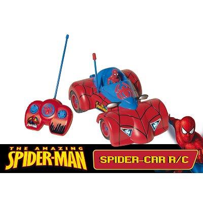 Voiture radiocommand e spiderman 3 imc toys magasin de - Jeux de spiderman voiture ...