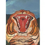 Puzzle 1000 pièces - Antonio Ligabue : Testa di Tigre