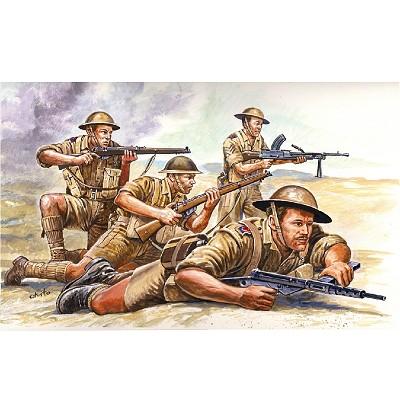 Figurines 2ème Guerre Mondiale : 8ème Armée Britannique - Italeri-6077
