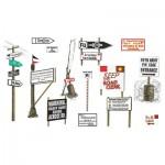 Accessoires militaires : Panneaux Routiers 2ème Guerre Mondiale