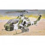 Maquette hélicoptère: AH-1W Super Cobra