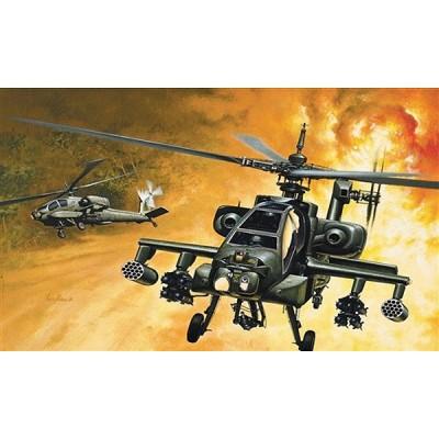 Maquette hélicoptère: AH-64A Apache - Italeri-159