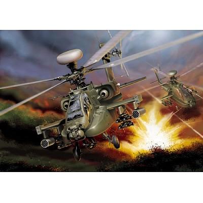 Maquette hélicoptère: AH-64D Apache Longbow - Italeri-863