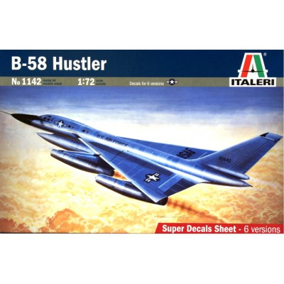 Maquette avion: B-58 Hustler - Italeri-1142