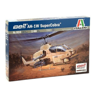 Maquette hélicoptère: Bell AH-1W SuperCobra - Italeri-833