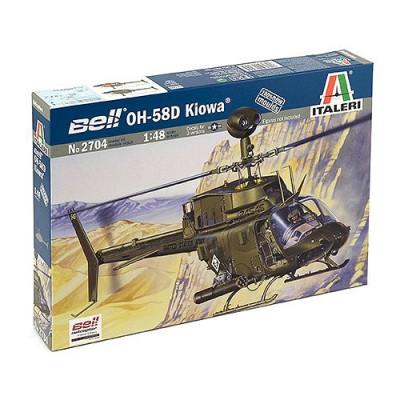 Maquette hélicoptère: Bell OH-58D Kiowa - Italeri-2704