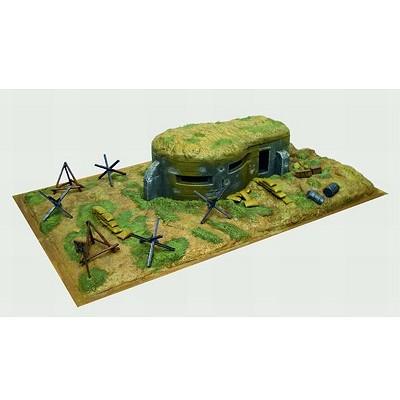 Diorama 1/72: Bunker et accessoires - Italeri-6070