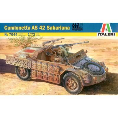 Maquette Camionetta AS 42 Sahariana: 1/72 - Italeri-7044