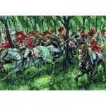 Figurines Guerre d'Indépendance: Cavalerie Britannique