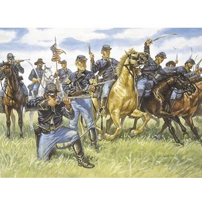 Figurines Guerre de Sécession: Cavalerie de l'Union - Italeri-6013